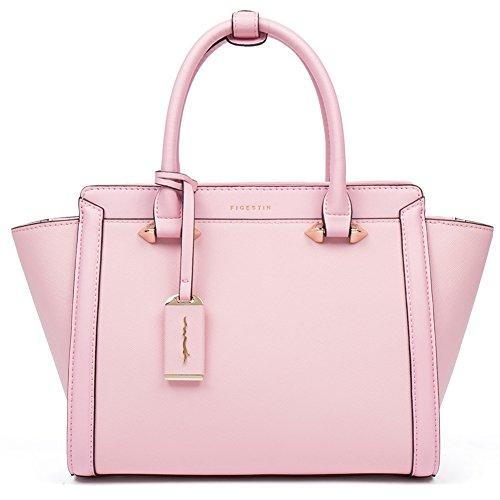 Tote Pink Fabric Handbags - 2