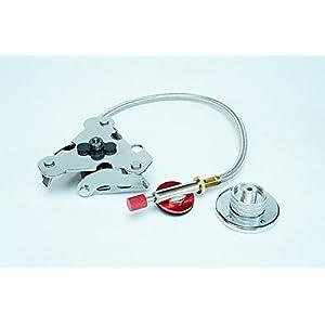 T型ガス器具 ステンレスフォールディング ガスアダプター OD缶/CB缶対応