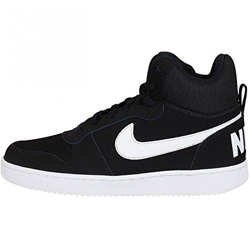 Nike Sneaker Court Borough Mid Schwarz/Weiß Schwarz/Weiß