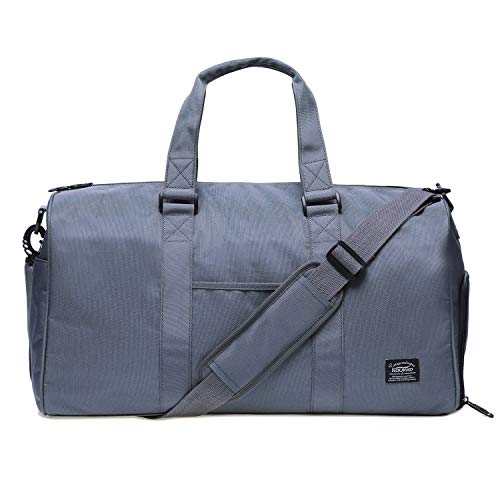 KAUKKO Sports Gym Bag With Shoes Compartment