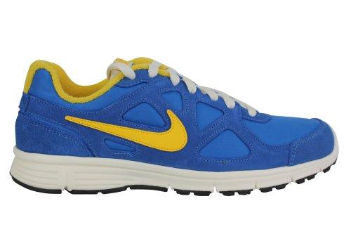 Nike nike revolution retro EXT - Zapatillas de cuero para hombre blue white yellow black