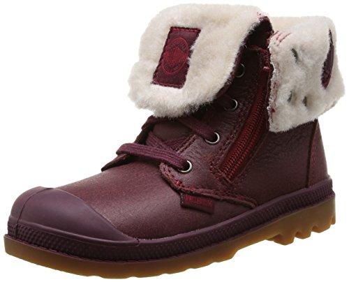 Enfant Lea Bb Baggy Wine Gumm 848 Bébé boots mid Palladium Mixte Windsor Rouge 5IfwnqIE