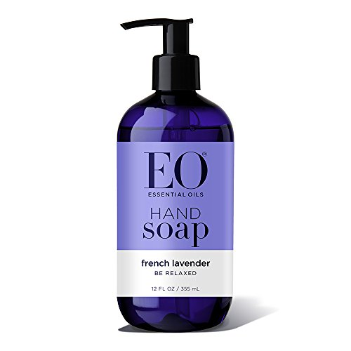 EO Botanical Liquid Hand Soap, French Lavender, 12 Ounce (Pack of 3) ()