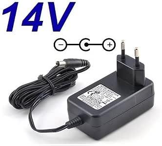 CARGADOR ESP ® Cargador Corriente 14V Reemplazo Monitor Televisor ...
