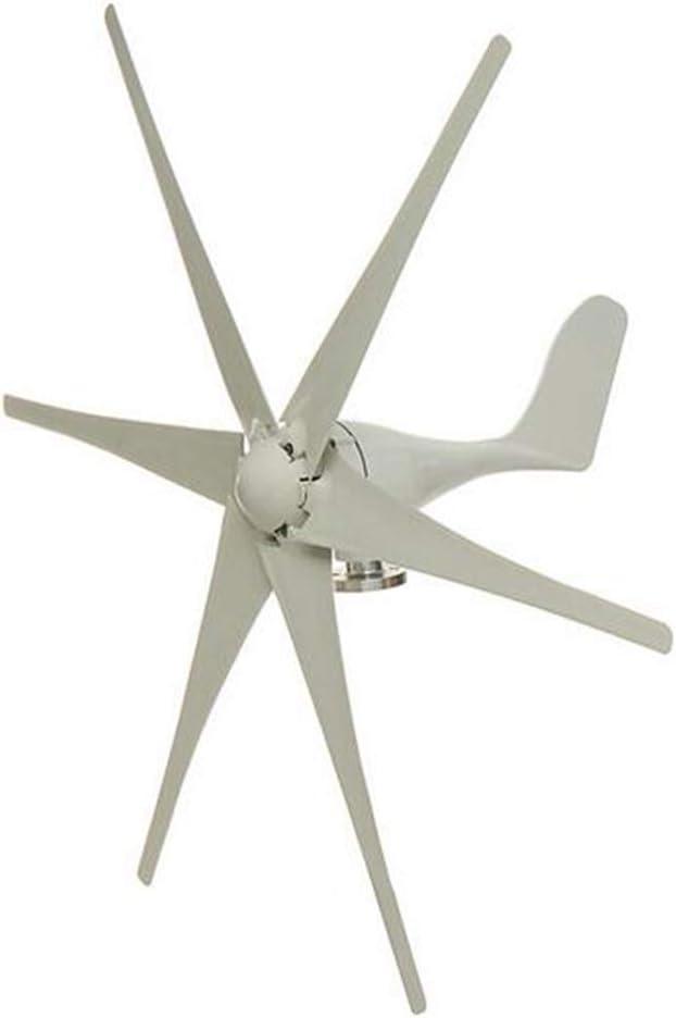 MEIGONGJU 5000W 48V 6 Nylon Fiber Blade Wind Turbines Generator Horizontal Power Windmill Energy Turbines Charge Fit for Home