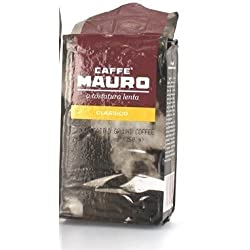 Mauro - Italian Roasted & Ground Coffee [Classico], (4)- 8.8 oz. Pkgs