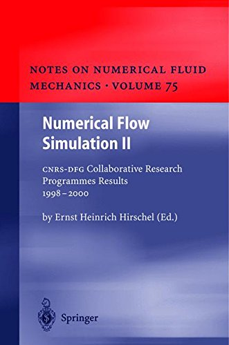 Download Numerical Flow Simulation II: CNRS-DFG Collaborative Research Programme Results 1998–2000 (Notes on Numerical Fluid Mechanics and Multidisciplinary Design) (v. 2) pdf epub