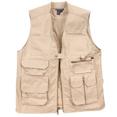 5.11 Tactical Poly/Cotton TacLite Pro Vest , TDU Khaki, Medium
