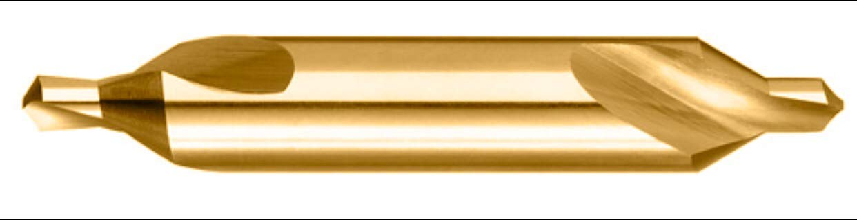 Titanium Coated Combined Drill and Countersink Size 00 /√/ä H.S