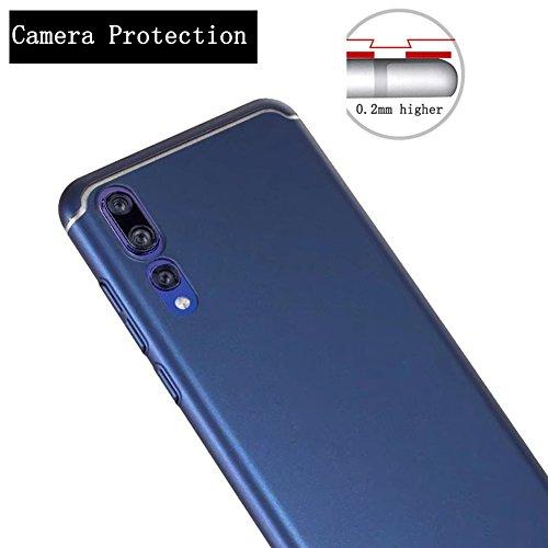 Custodia posteriore Pc graffio Ultra P20 Blu Rosso P20 anti per Scrubbing rigida Huawei Slim Custodia Cover Adamark Pro P20 Custodia protettiva Custodia rigida Huawei Pro P20 per per antiurto Custodia ZfcHBSw