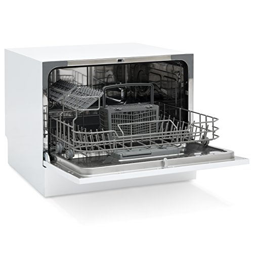 Best Choice Products Small Spaces Kitchen Countertop Portable Dishwasher w/ 6 Wash Cycles and Preset Start Function by Best Choice Products (Image #2)