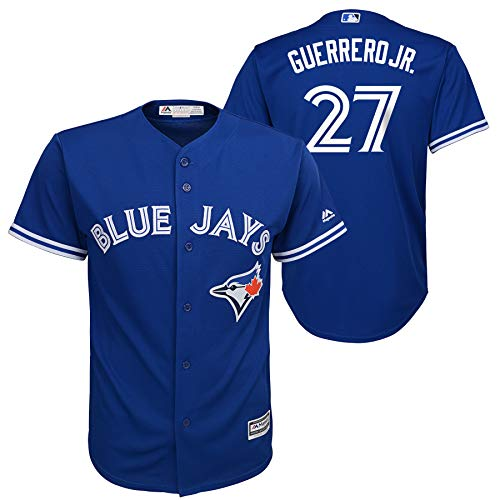- Outerstuff Vladimir Guerrero Jr. Toronto Blue Jays Youth Cool Base Replica Alternate Jersey - Size Youth Large (14/16)