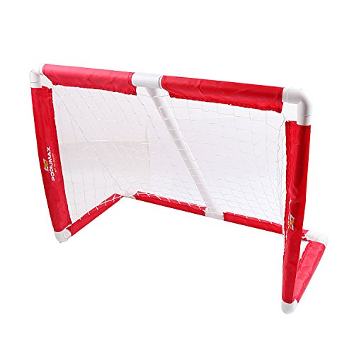 PodiuMax Kids Hockey Goal Net, Portable DIY PVC Ice Hockey Target, Mini Size Suit for Children Game, - Goal Hockey Portable Field