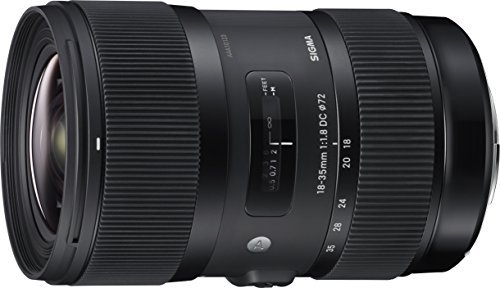 Sigma 18-35mm F1.8 Art DC HSM Lens for Nikon (Sigma Wide Angle Lens For Nikon D3300)