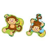 Carson Dellosa Monkeys Shape Stickers (168076)