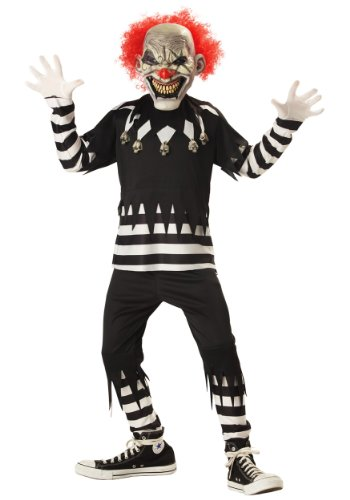Clown Psycho Costume Halloween (California Costumes Psycho Clown Costume Small)