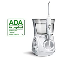 Waterpik Water Flosser, encimera dental dental, irrigador bucal para dientes - Aquarius Professional, WP-660 White