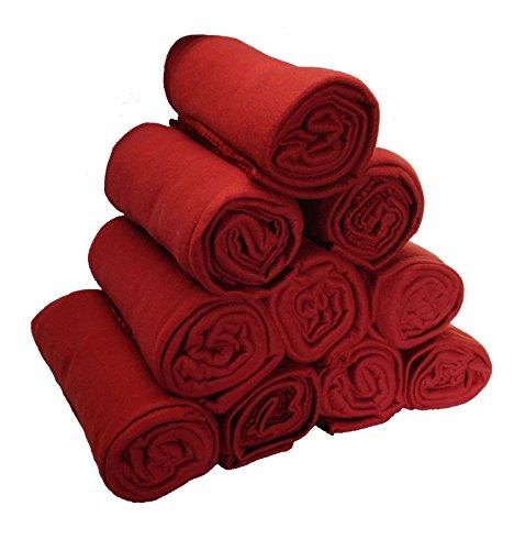 50 x 60 Inch Fleece Throw Blanket Wholesale Case Pack 10 (Fleece Throw Bulk)