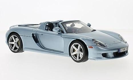 Amazon Porsche Carrera Gt Metallic Light Blue 2004 Model Car