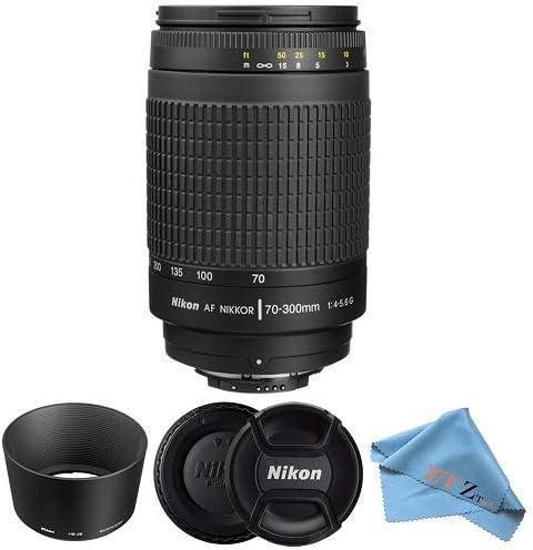 Nikon AF Zoom-NIKKOR 70-300mm f//4-5.6G Lens Cloth Only