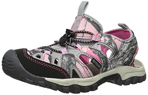 (Northside Burke II Athletic Sandal,Pink Camo,5 M US Big Kid)