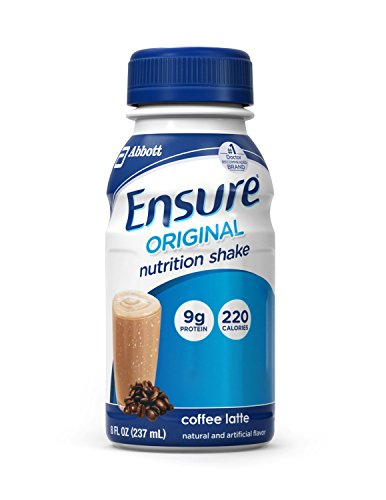 Ensure Original Nutrition Shakes, Coffee Latte, 8 oz -1/Case of 24 Bottles For Sale