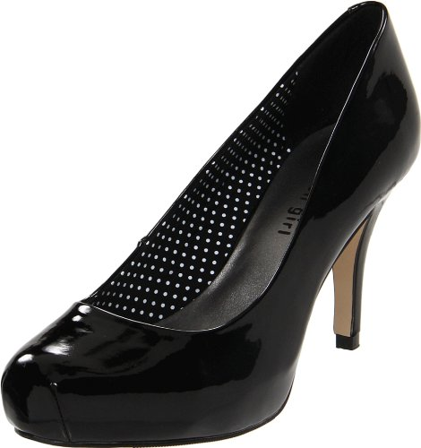 Madden Girls Getta Pump Black Patent