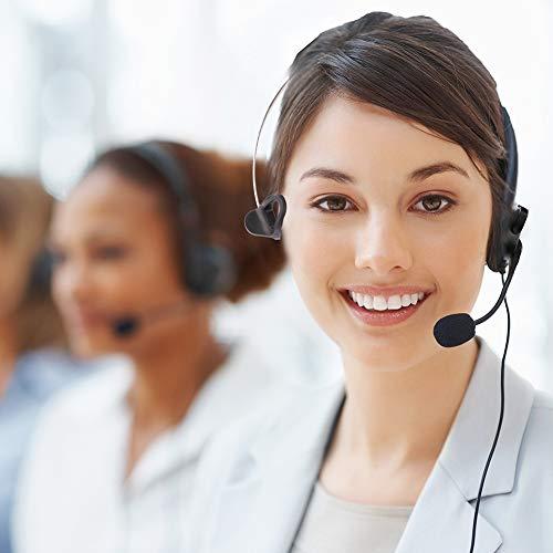 LotFancy Calltel Headset Headphone with Mic for Cisco IP