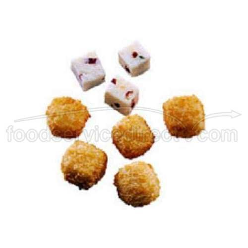 McCain Anchor Breaded Hot Pepper Cheese Cube - Appetizer, 3 Pound -- 6 per case. by McCain