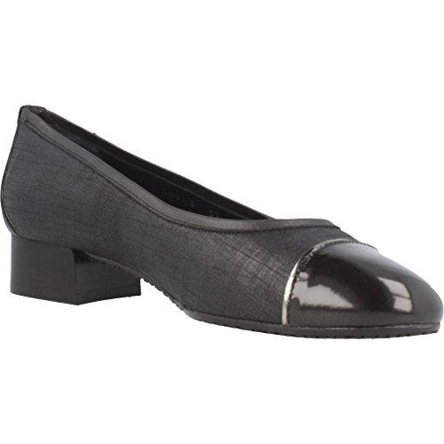 Color Modelo Platino Platino 2165583 Zapatos Zapatos para Mujer Negro Bailarina Mujer para Marca Bailarina Negro Negro nt7t0qYA4