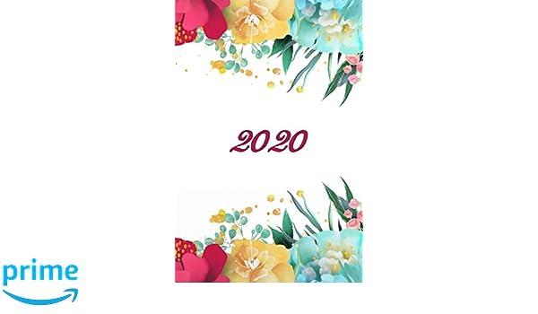 2020: Agenda - Planificateur Hebdomadaire et Mensuel ...