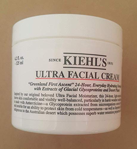 Ultra Facial Cream 4.2 Oz 125ml 24-H Everyday Hydrating Formula ()