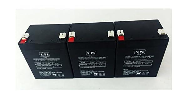 500VA This is an AJC Brand Replacement 12V 5Ah UPS Battery PowerVar ABCE420-11IEC
