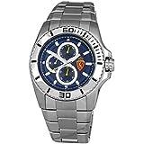 Justina Reloj Analog-Digital para Mens de Automatic con Correa en Cloth S0325008