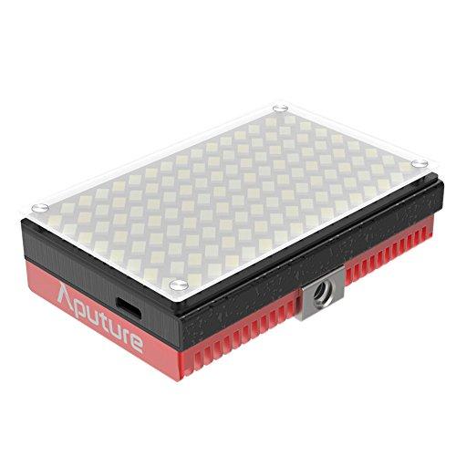 Aputure AL-MX LED Video Color Temperature 2800-6500k TLCI/CRI 95+ On Camera Fill Light Pocket Sized Tiny LED Lighting by Aputure (Image #1)