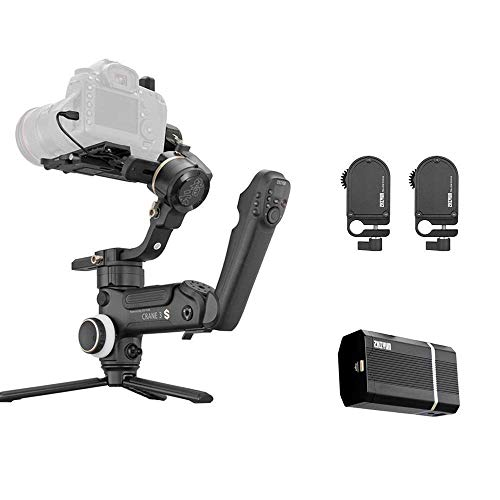 Zhiyun Crane 3S Gimbal Stabilizer Bundle | PowerPlus Battery Pack Bundle | Crane 3S Focus and Zoom Combo Kits