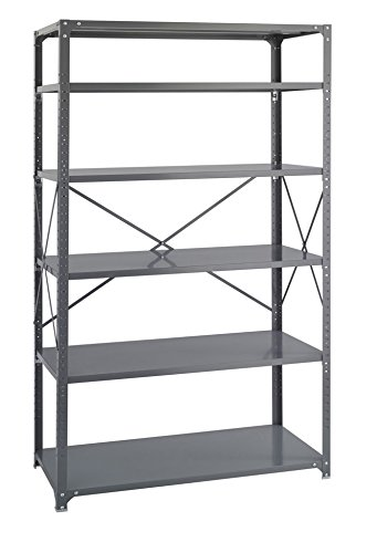 Safco Products 6255 Industrial Shelving 48