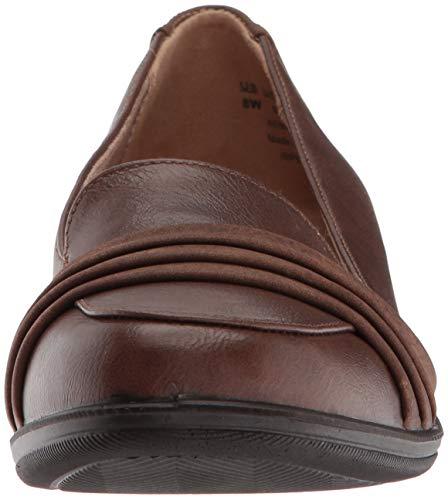 Loafer Flat Imperia Women's Dark LifeStride Tan qnFwZTRxE