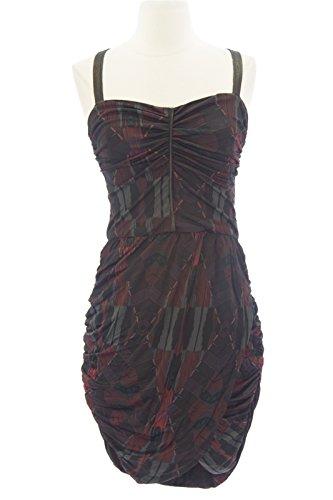 oreen Bodycon Dress Small Red ()