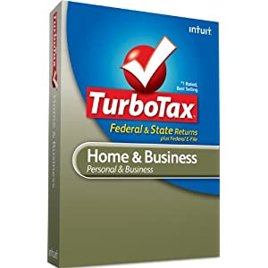 TurboTax Home & Business Federal + e-File + State 2010 - [Old Version]