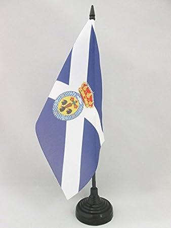 AZ FLAG Bandera de Mesa de Santa Cruz DE Tenerife 21x14cm ...