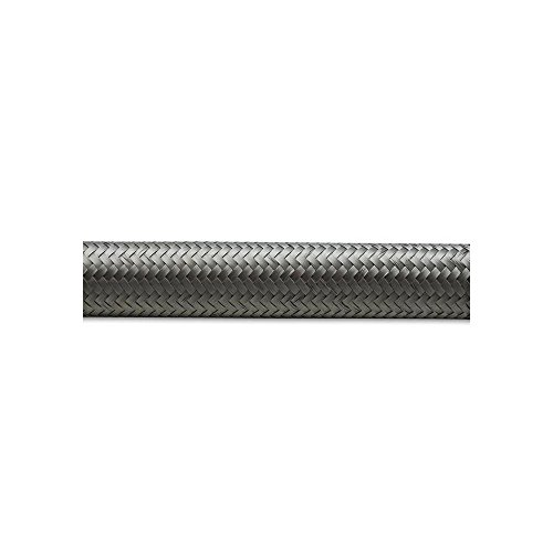 Vibrant -8 AN SS Braided Flex Hose (10 foot roll) (11918)