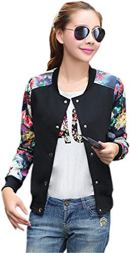 Womens Sleeve Floral Lightweight Zipper product image