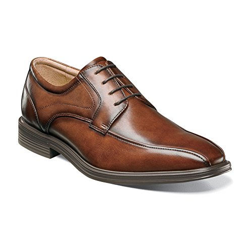 Florsheim Mens Heights Bike Toe Oxford Cognac K7yZH3L3LA