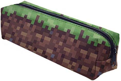 Ferocity Estuches plumier la Tuba Multicolor Hierba Verde con Suelo marrón [008]: Amazon.es: Juguetes y juegos