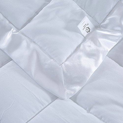 Newlake Lightweight White Down Alternative Quilted Blanket