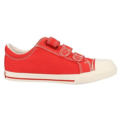 Stiefel Clarks Inf Jungen rot Halcy Sky Rot 6r0qrIH