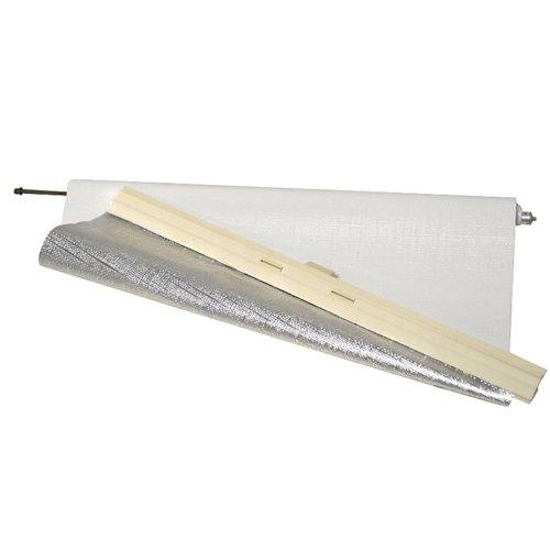 Hartal 206/141 - Estor para claraboya de autocaravanas 206/066 (400x400mm), color blanco
