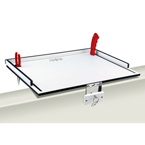 Table Filet Mate (Magma T10-310B Econo Mate Bait Filet Table - 20 - White/Black Marine RV Boating Accessories)