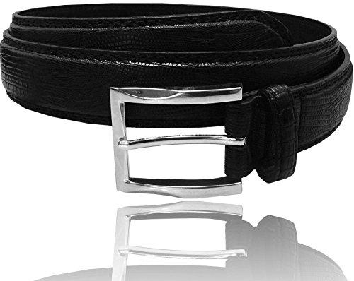 LUNA Classic Leather Dress Belt - 1.25